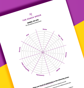 Printable Blank Wheel Of Life - The Coach Space