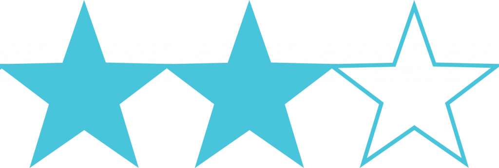 Two stars out of three